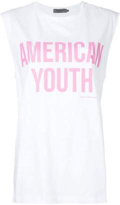 Calvin Klein Jeans American youth printed T-shirt