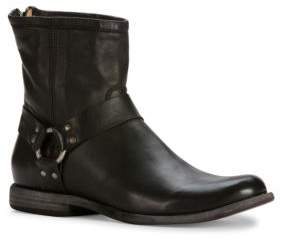 Frye Phillip Harness Leather Boot