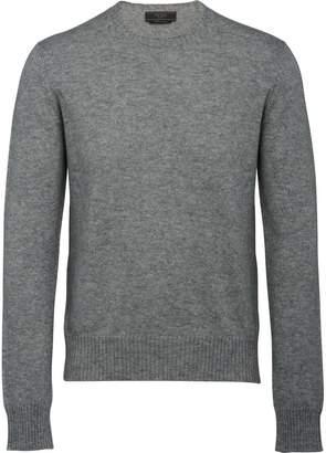 Prada crew neck cashmere jumper
