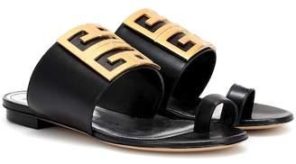 Givenchy (ジバンシイ) - Givenchy Embellished leather sandals