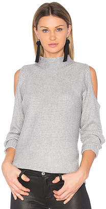 1 STATE Cold Shoulder Sweater
