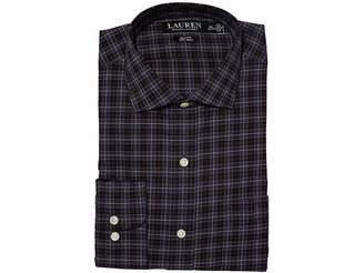 66489726f8d ... Lauren Ralph Lauren Non-Iron Stretch Poplin Slim Fit Spread Collar Dress  Shirt Men s Long