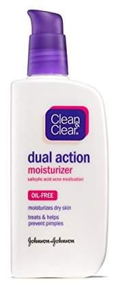 Clean & Clear Cln&Clr Dual Mosit Size 4 Oz Oil-Free Dual Action Moisturizer