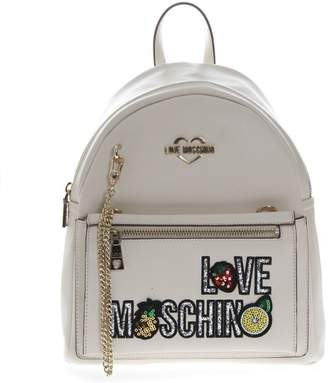 a5c5e24344c White Faux Leather Backpacks For Women - ShopStyle UK