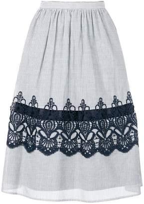Steffen Schraut striped skirt