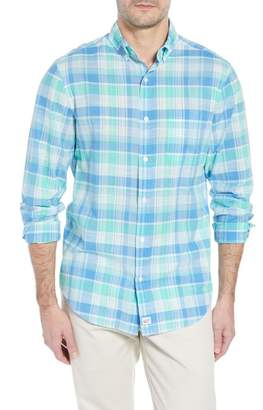Vineyard Vines Homer Pond Murray Classic Fit Plaid Sport Shirt