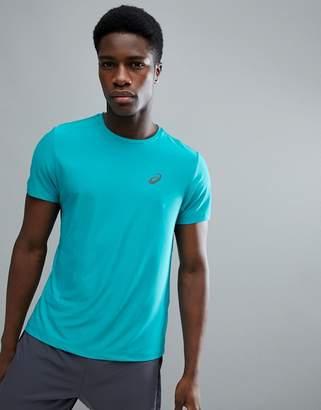 Asics Running T-Shirt In Blue 134084-8098