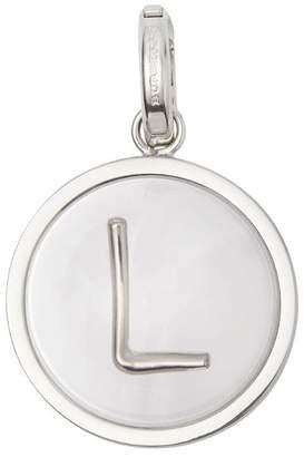 Burberry Marbled Resin 'L' Alphabet Charm
