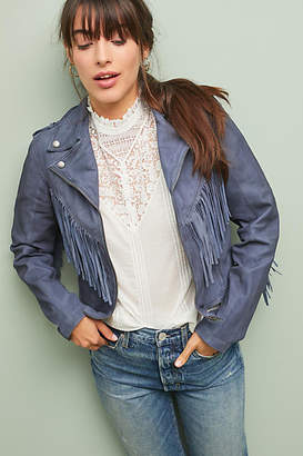 Jakett Fringed Leather Jacket