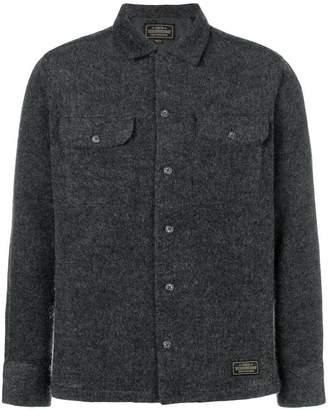 Neighborhood textured shirt jacket