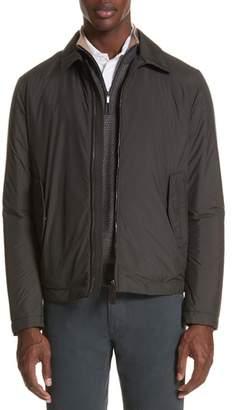 Canali Regular Fit Reversible Jacket