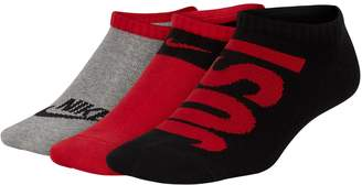 Nike Boys 4-20 Lightweight Low-Cut 3-Pack Training Socks