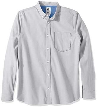 Element Men's Barker Long Sleeve Woven Shirt