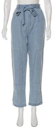 Marc by Marc Jacobs High-Rse Straight-Leg Pants w/ Tags