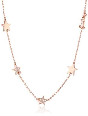 Juicy Couture Pave Star Strand Necklace