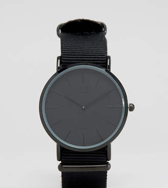 Reclaimed Vintage Inspired Canvas Watch In Black Exclusive to ASOS