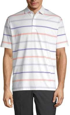 Callaway Striped Stretch Polo