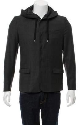 Christian Dior Hooded Wool Jacket