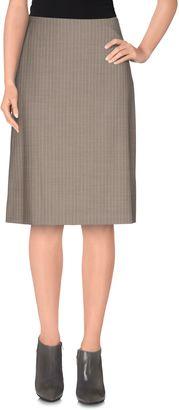 BOSS BLACK Knee length skirts $270 thestylecure.com