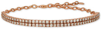LeVian Le Vian NudeTM Diamond Double Row Bracelet (2-1/2 ct. t.w.) in 14k Rose Gold