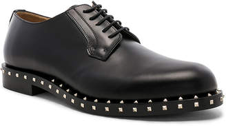 Valentino Studded Leather Derbies