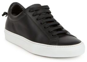 Givenchy Urban Street Knots Leather Low-Top Sneakers $495 thestylecure.com