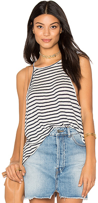 The Laundry Room High Neck Tank in Black $78 thestylecure.com