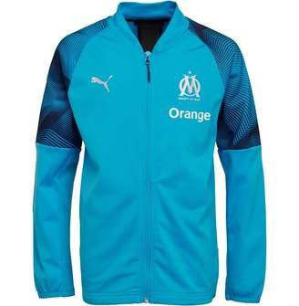 Puma Boys Olympique Marseille Poly Track Jacket Bleu Azur
