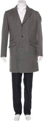 Loro Piana Storm System Cashmere Overcoat
