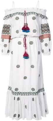 Figue Helena cold-shoulder dress