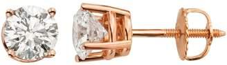 Evergreen Diamonds 1 Carat T.W. IGL Certified Lab-Created Diamond Stud Earrings