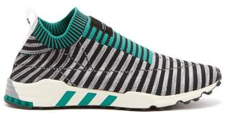 Adidas Originals - Eqt Support Primeknit Trainers - Mens - Black Green
