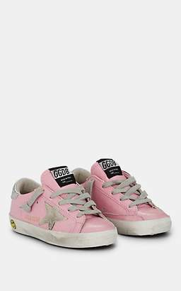 Golden Goose Kids' Superstar Patent Leather Sneakers - Pink