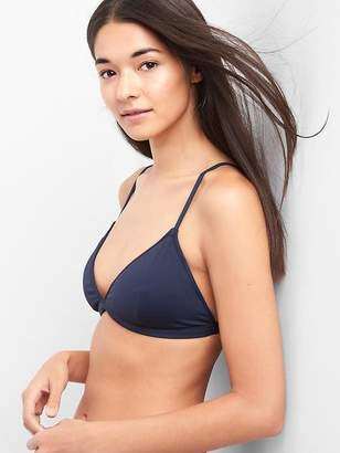 Gap Triangle Bikini Top