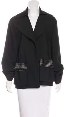 Thomas Wylde Embellished Long Sleeve Jacket