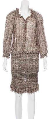 Etoile Isabel Marant Silk Floral Dress