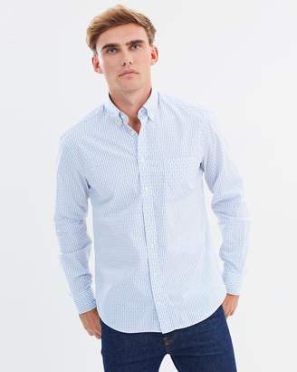 Hackett Pilcoupe Stripe Dot Shirt