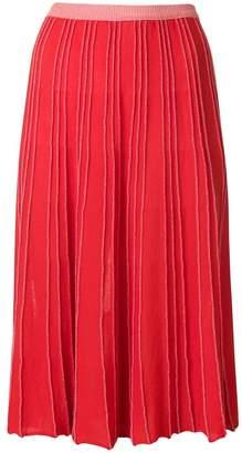 Chiara Bertani knitted midi skirt