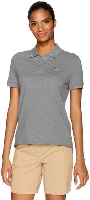 Lacoste Women's Short Sleeve Classic Fit Pique (Two Button Polo)