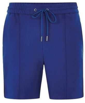 Topman Mens Blue Side Stripe Smart Shorts
