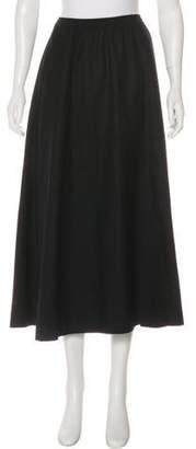 eskandar Maxi Wool Skirt