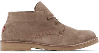 Levi's Track Mid Suede Ankle Boots