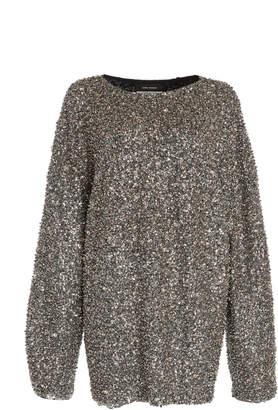 Isabel Marant Xana Oversized Sequin Top