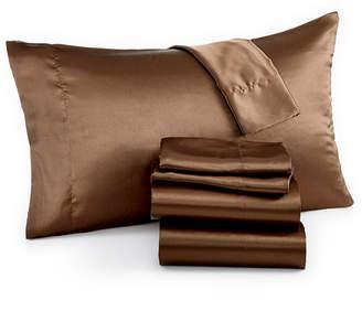 Jla Home Madison Park Essentials Satin 6-Pc. Full Sheet Set Bedding