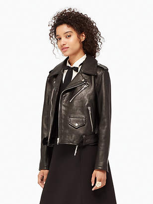 Leather moto jacket $898 thestylecure.com