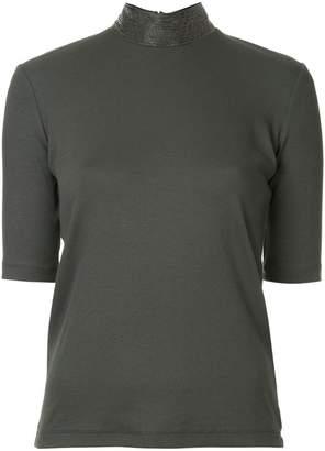 Fabiana Filippi funnel neck T-shirt