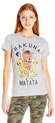 Disney Women's Lion King Hakuna Matata Graphic Tee $19.50 thestylecure.com