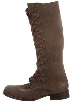 Esquivel Round-Toe Knee-High Boots