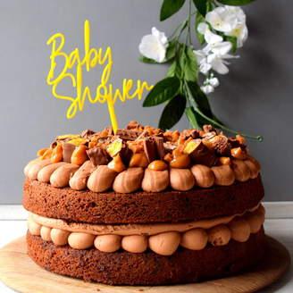 The Alphabet Gift Shop Baby Shower Cake Topper