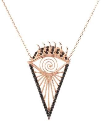 Rosegold Latelita London - All Seeing Eye Necklace